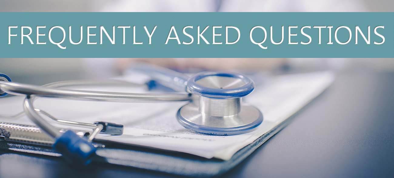 Frequently Asked Questions - Page Banner
